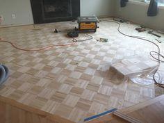 Parquet Flooring, Tile Floor, Hardwood, Rugs, Home Decor, Farmhouse Rugs, Tile Flooring, Interior Design, Home Interior Design