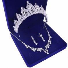 Rhinestone Jewelry, Crystal Rhinestone, Bridal Jewelry Sets, Wedding Jewelry, Faux Pearl Necklace, African Jewelry, Earring Set, Women Jewelry, Jewelry Accessories