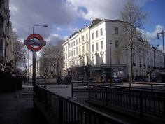 Subway entrance to Pimlico Underground Station by PAUL FARMER