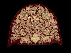 Headdress / Date: fourth quarter 18th century Culture: Russian Medium: silk, metal, linen