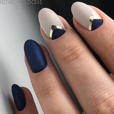 nails, blue, and style kép