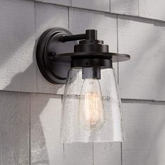 """Goodfield 10"""" High Oil-Rubbed Bronze Outdoor Wall Light - #9H829 