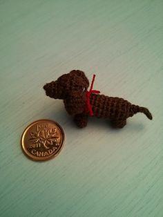 Amigurumi Dachshund - FREE Crochet Pattern / Tutorial, thanks so xox Rav. ☆ ★ https://www.pinterest.com/peacefuldoves/