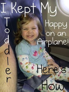Airplane with a Toddler – our Experience | For Love of Cupcakes Traveling with Kids, Traveling tips, Traveling #Travel