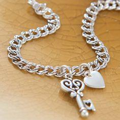 New Hospitable Sterling Silver .925 Chunky Curb Bracelet Fine Bracelets
