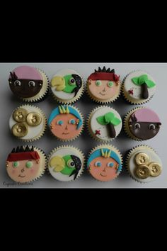 Jake and the never land pirates cupcakes
