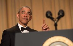 #POTUS #BarackObama #FLOTUS #MichelleObama  #Final #CorrespondentDinner #WhiteHouse April 30, 2016 #President Got #Jokes #PresidentBarackObama entered Saturday's April 30, 2016 White House Correspondents' Dinner knowing it would be his final opportunity to take some swings under the guise of a friendly roasting. And he certainly came prepared: with the presidential election tumbling ever more chaotically toward its November denouement, Obama had plenty to work with.  Here are some of the…