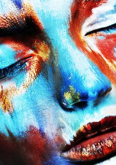Révolte for bast-magazine by polina vinogradova, via behance art i love in Art Tumblr, Illustration, Painting Videos, Color Of Life, Matisse, Face Art, Body Painting, Art Paintings, Pop Art