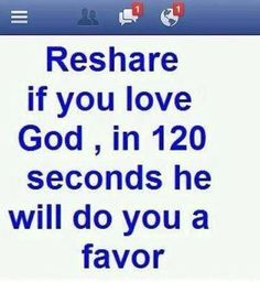 Doing it because I love God, not for the favor. God gives us everything! Be grateful!