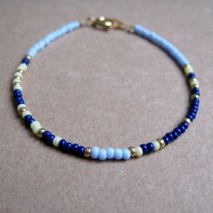 Deeply Rooted Morse Code Bracelet by AbejaSencilla on Etsy