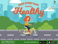 With Greenolution, you can rent a cycle anytime you want and how long you want. The scheme promotes the utilization of cycle because its pollution free doesn't harm the air.   #CycleOnRent,  #BicycleOnRent,  #RentACycle,  #RentABicycle