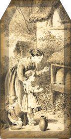 Bountiful Heirlooms: Free Printables: Bee and Beekeeping Tags Vintage Bee, Vintage Ephemera, Vintage Prints, Bee Art, Free Graphics, Paper Tags, Bees Knees, Free Prints, Bee Keeping