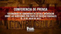 Comuneros de Ostula, Michocán, darán testimonio sobre agresión de fuerza...