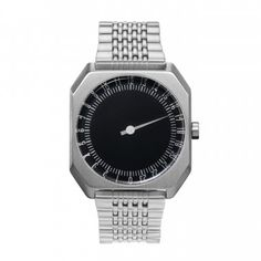 Looking for slow Jo 02 - Swiss Made one-hand 24 hour watch - Silver steel ? Check out our picks for the slow Jo 02 - Swiss Made one-hand 24 hour watch - Silver steel from the popular stores - all in one. Amazing Watches, Cool Watches, Watches For Men, Wrist Watches, Stainless Steel Bracelet, Stainless Steel Case, Silver Water, Silver Metal, Thing 1