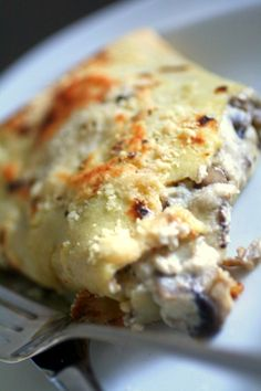 crespelle con funghi – pancakes with mushrooms… | Real Italian Foodies