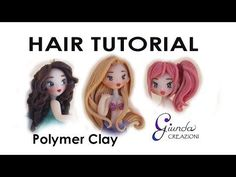 [ENG] How to make Hair with clay TUTORIAL - YouTube