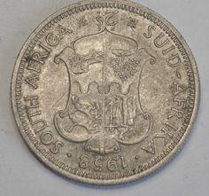 Coins South Africa South Africa Elizabeth II 2 Shillings 1958   eBay