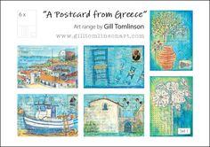 Postcards | Gill Tomlinson Art