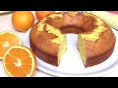 Longing for orange pie, easy recipe with few ingredients # 173 Recipes With Few Ingredients, Biscotti, No Bake Desserts, Doughnut, Baked Goods, Easy Meals, Food And Drink, Lemon, Pie