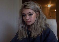 Blonde – My hair and beauty Dye My Hair, New Hair, Dyed Blonde Hair, Fotografia Grunge, Cute Makeup, Hair Makeup, Hair Inspo, Hair Inspiration, Inspo Cheveux