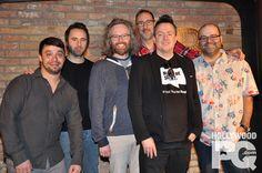 François Bellefeuille, Louis-José Houde, Laurent Paquin, Martin Petit, Mike Ward et Charles Deschamps nous présentent Le Bordel   HollywoodPQ.com