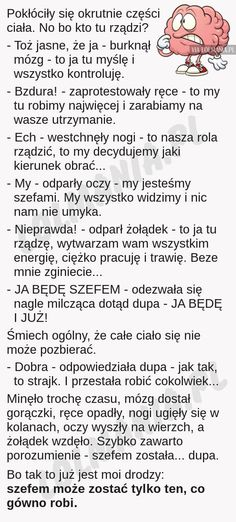 Sorry za słowa, ale to jest takie szczere. Best Quotes, Funny Quotes, Funny Mems, Text Memes, Love Text, Wtf Funny, Man Humor, Motto, True Stories