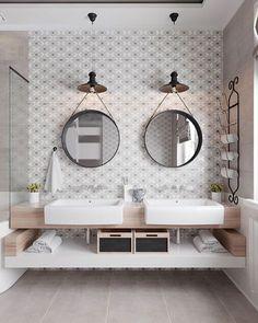 "141 Likes, 1 Comments - Williams Sonoma Home (@wshome) on Instagram: ""Double sinks? Double the beauty! 📷 via Anton Gorbatenko"""