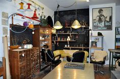 The seating area for the cafe in The Old Electric Shop, Hay-on-Wye. Brand Inspiration, Inspiration Boards, Wifi Password, Antique Shops, Old Things, Electric, Bloom, Photos, Shopping