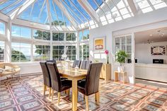 Even an enclosed patio can also assume the role of a beautiful sunroom; as sunrooms are supposed to be rich with natural elements and decorations. Therefore, if you own a beautiful garden spattered with sunlight, it could be the perfect area for a unique sunroom. #ImpressiveInteriorDesign #sunroomandconservatory