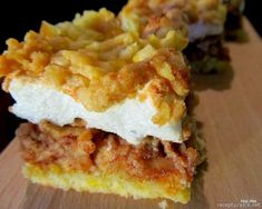 Nejedlé recepty: Hraběnčiny řezy Lasagna, Cheesecake, Pie, Cooking, Ethnic Recipes, Food, Torte, Kitchen, Cake