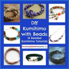 DIY Kumihimo with Beads: 14 Beaded Kumhimo Tutorials