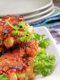 Sio-smutki: Placki z kurczaka z majonezem