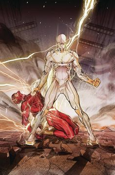 """DC COMICS (W) Joshua Williamson (A/CA) Carmine Di """"LIGHTNING STRIKES TWICE"""" part 6! You've seen glimpses of him. You've witnessed the carnage he's unleashed on Central City. Now meet Godspeed, the sup"""