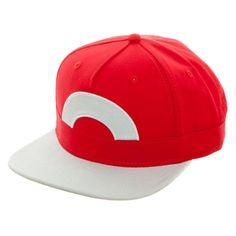 Pokemon Ash Ketchum Satoshi Snapback Hat