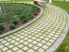 Ideakuvat | Rudus Paving Stones, Sidewalk, Golf, Garden, Decks, Flats, Gardens, Garten, Side Walkway