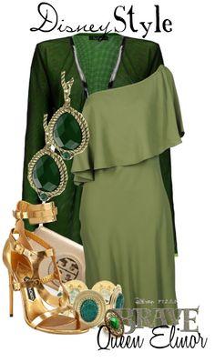 """Disney Style : Queen Elinor"" by missm26 on Polyvore"