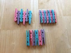 It's easy to dye clothespins with food coloring. After you dye them, make them into coasters or other projects! You can see more of my crazy creations here Cute Coasters, How To Make Coasters, Cute Gifts, Diy Gifts, Dye Clothespins, Make Your Own, Make It Yourself, Clothes Pin Wreath, Coaster Design