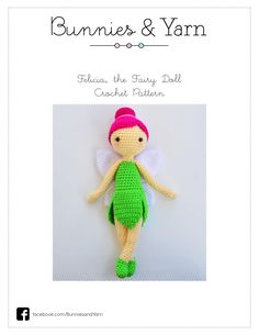 By felicia the fairy doll crochet pattern