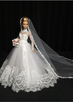 1 million+ Stunning Free Images to Use Anywhere Barbie Bridal, Barbie Wedding Dress, Wedding Doll, Barbie Gowns, Doll Clothes Barbie, Vintage Barbie Dolls, Barbie Dress, Bridal Dresses, Wedding Gowns