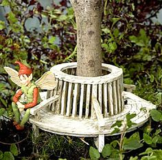 The Round Under-the-Tree Garden Seat  http://www.efairies.com/store/pc/The-Round-Under-the-Tree-Garden-Seat-245p1739.htm  $38.00