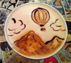 Art in My Coffee: 60 Delicious Examples of Latte Art Coffee Latte Art, I Love Coffee, My Coffee, Cappuccino Art, Coffee Shops, Coffee Lovers, Costa Coffee, Happy Coffee, Coffee Maker