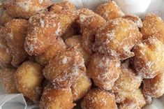 "Sfinges,in Italy called Sfinci are made differently than ""zeppole"" which is the . Italian Pastries, Italian Desserts, Italian Recipes, Italian Foods, Italian Fried Dough, Fried Dough Recipes, Zeppole Recipe, Italian Chef, Italian Bread"