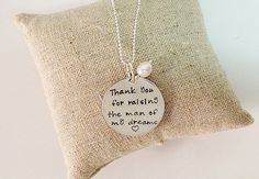 Mother's Day Mother in Law Gift. Mother of by PersonalizeMeJewelry