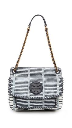 Tory Burch 'Marion' Patchwork Small Shoulder Bag