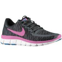 Nike Free 5.0 V4 - Women's - Black / Grey