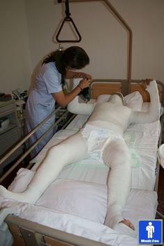 Hospital restraint.