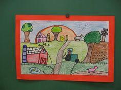 Grant Wood Landscape art lessons - Google Search