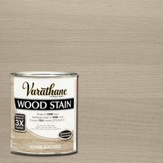 Varathane 1 qt. 3X Sun Bleached Premium Wood Stain (2-Pack), Sunbleached