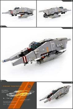 Ultaran Escort Destroyer, by Pierre E Fieschi