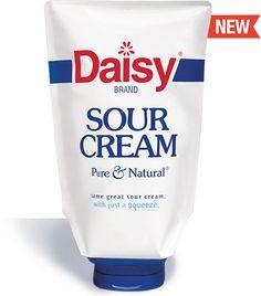 Squeeze Bottle Sour Cream - Daisy Brand #daisysqueezesourcream #influenster #fiestavoxbox